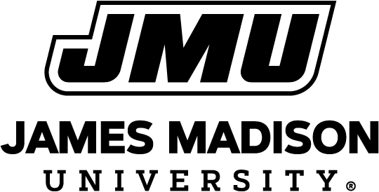 JMU logo with James Madison's head
